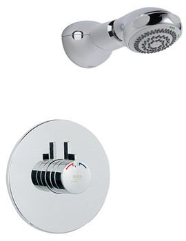 Mira Miniduo and Eco Showerhead BIR Thermostatic Mixer Shower Chrome