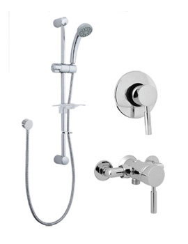 Vision Manual Shower Valve With Single Function Kit