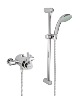 Avensys Modern Thermostatic Dual EV Shower Mixer Kit