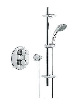 3000 BIV Thermostatic Shower Mixer With Kit - 34193000