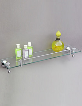 Traditional Glass Shelf 500 x 120mm - A09007
