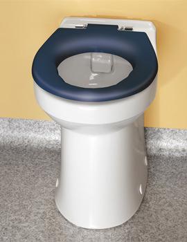 Doc.M Rimless Ambulant BTW WC Pack With Blue Rails
