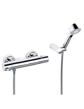 Targa Wall Mounted Thermostatic Shower Mixer - 5A1360C00