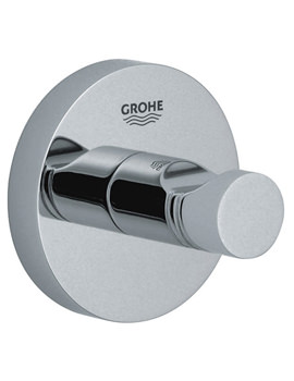 Grohe Essentials Chrome Robe Hook - Image