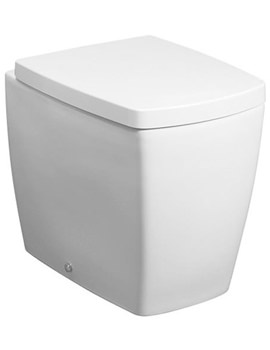 Touch Back To Wall WC Pan With Soft Close Seat- ED6007CW
