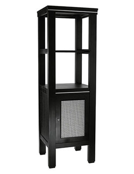 Cuda Metal Weave Tall Unit Wenge - XWCM011042
