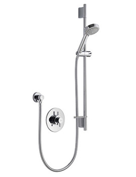 DL Thermostatic Concealed Shower Valve With Harmony Head Kit
