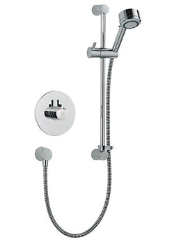 Miniduo And Eco Showerhead BIV Thermostatic Mixer Shower