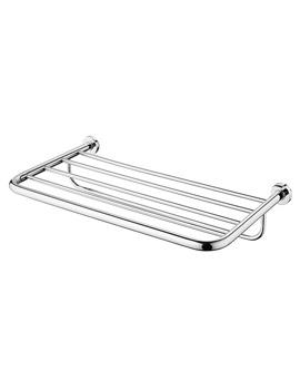 IOM Chrome Bath Towel Rack - A9106AA