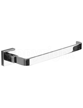 Zeya Chrome Towel Rail - ZE013C