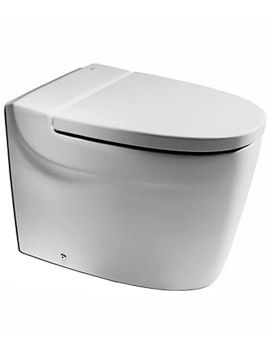 Khroma White Back To Wall WC Pan 610mm - 347657000