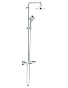 New Tempesta Cosmopolitan Thermostatic Shower System