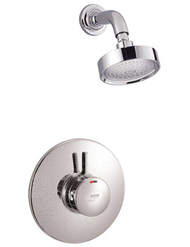 Select BIV Built In Rigid Thermostatic Shower Chrome - 1.1592.007