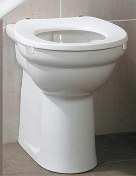 Doc M Ambulant Back-To-Wall WC Pack With Rails