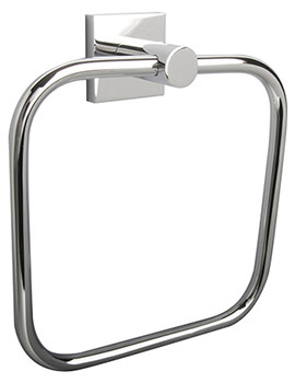 Atlanta Chrome Finish Towel Ring - 8805C