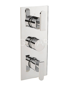 Related Sagittarius Eclipse Concealed Thermostatic Shower Valve With 3 Way Diverter