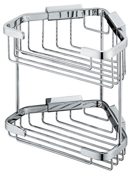 Large Double Triangular Corner Basket - BAS-2013