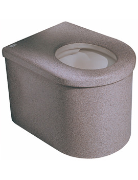 Twyford Defenda Encapsulated Back-To-Wall WC Pan 590mm - DF1148WH