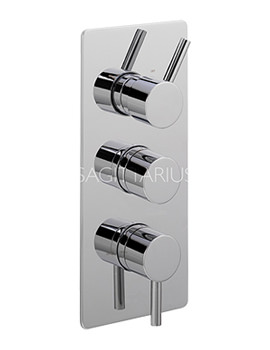 Related Sagittarius Ergo Concealed Thermostatic Shower Valve With 3 Way Diverter