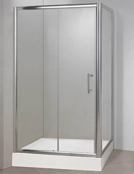 Framless Sliding Shower Door 1200 x 800mm