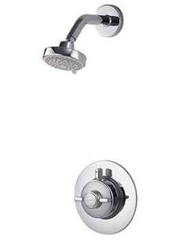 Quartz Thermostatic Concealed Shower With Fixed Head