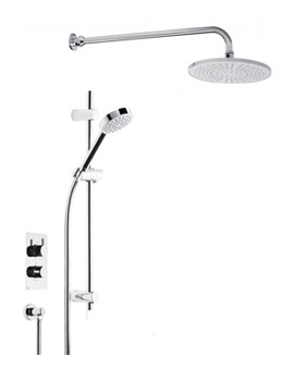Roper Rhodes Event Round Dual Function Shower System With Fixed Shower Head - Image
