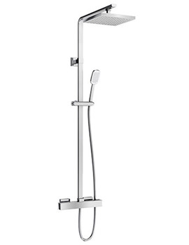 Britton Square Exposed Thermostatic Shower Valve With Kit - V56