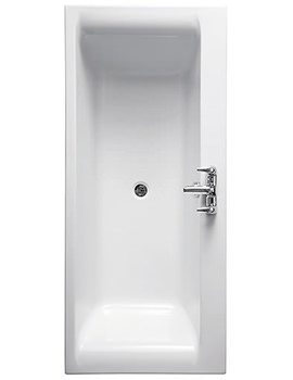 Alto 1700 x 750mm Double Ended Idealform Bath No Tapholes