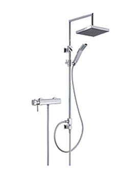 Fever Shower Pole With Exposed Shower Inlet - 50850