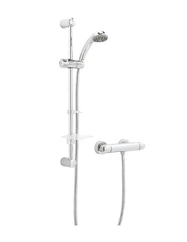 Response Thermostatic Bar Shower Valve With Single Function Kit