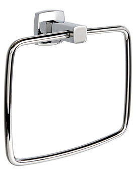 Denver Chrome Finish Towel Ring - 6405C