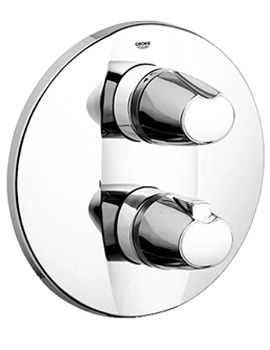 Grohtherm 3000 Thermostatic Bath Shower Mixer Trim - 19358000