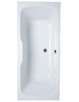 Optima Double-Ended Bath 1700 x 750mm - 52430001000