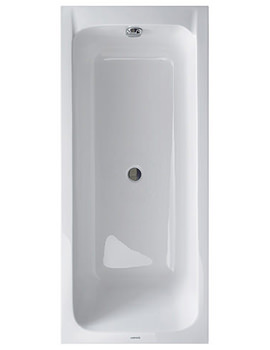 Duravit D-Code 1700x700mm With Support Frame - Central Outlet