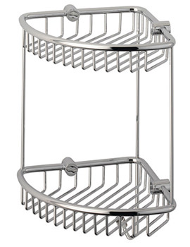 Sigma Double Corner Basket 235mm Wide - CB50.02