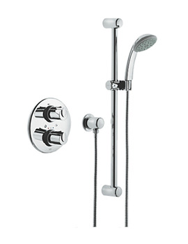 1000 BIV Thermostatic Shower Mixer With Kit - 34162000