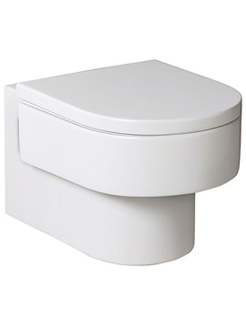 Happening Wall Mounted WC Pan With Soft Close Seat - 346567000