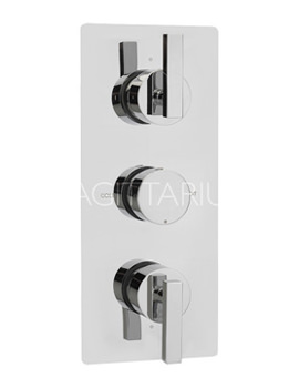 Related Sagittarius Design Concealed Thermostatic Shower Valve With 3 Way Diverter