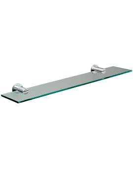 Montana Clear Glass Shelf 500mm - 6702C