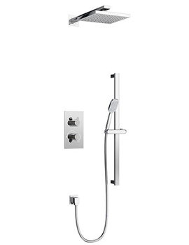 Related Britton Concealed Thermostatic 2 Way Control Shower Valve And Kit