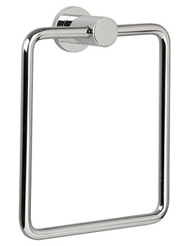 Montana Chrome Finish Towel Ring - 6725C