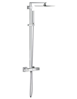 Euphoria Cube Shower System With Thermostatic Mixer - 26087000
