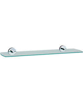 Smedbo Loft Bathroom Glass Shelf 600mm
