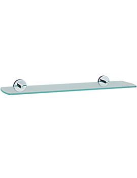 Loft Bathroom Glass Shelf 600mm - LK347
