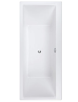 Evolution Double Ended Easyflow Acrylic Bath 1750mm x 750mm