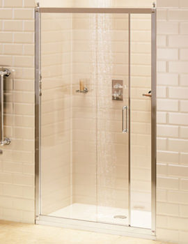 Soft Close Sliding Shower Door 1200mm - C7S
