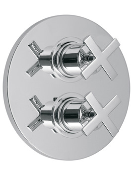 Tonic 2 Outlet 2 Handle Thermostatic Shower Valve With Diverter