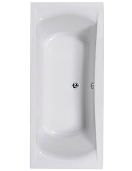 Arena 1700 x 750mm Double Ended Bath - 154ARENA1775