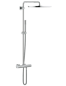 Rainshower Thermostatic Shower System With Jumbo Head
