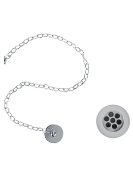 Basin Plug And Chain Slotted Waste Chrome - W1